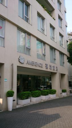 Ambience Hotel: Hotel entrance