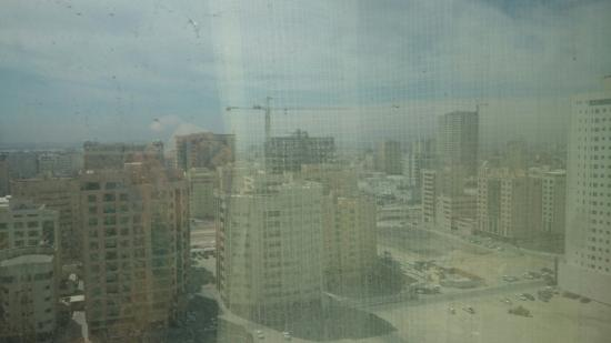 Hotel Diva : Outside view from the 17th floor