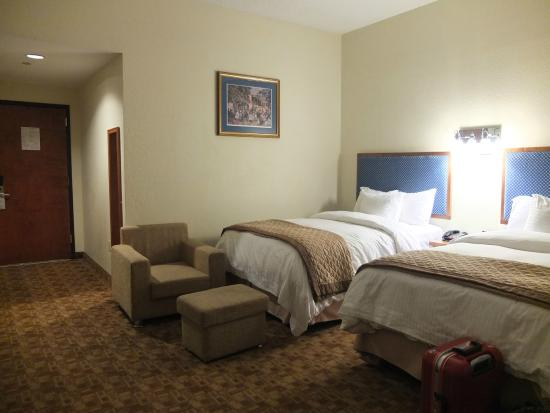 Beds Picture Of Wyndham Garden Baronne Plaza New Orleans New Orleans Tripadvisor