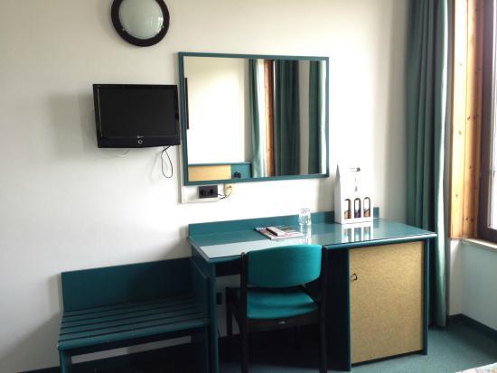 Hotel Plaza: dettaglio della camera