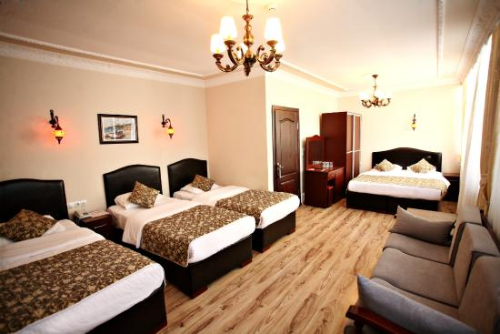 Dara Hotel Istanbul: Family Room