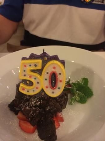 Restaurante El Navarro: Chocolate Brownie...........