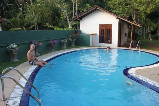 Haus Berlin, Bentota: la piscine