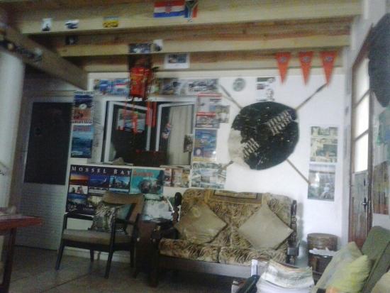 Island Lodge : The lounge area