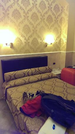 Quality in Rome: Hotel's room