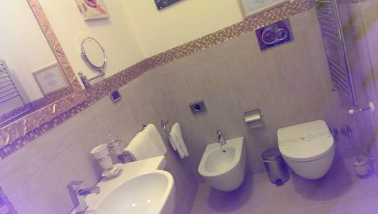 Quality in Rome: Bathroom