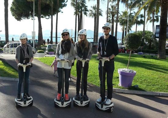 CannesVisiTour : segway tour on Inmotion