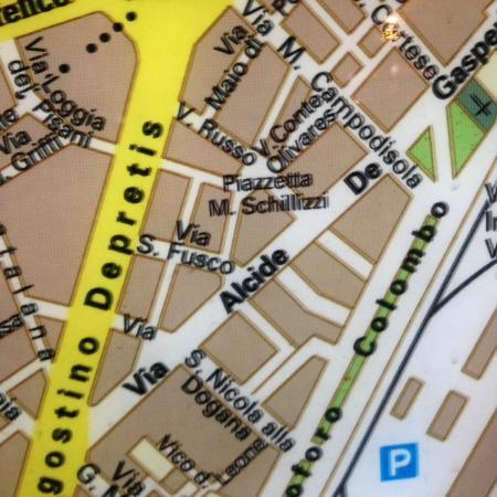 Schilizzi Hotel : Map of immediate area