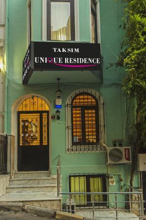 Taksim Unique Residence : dış görünüş