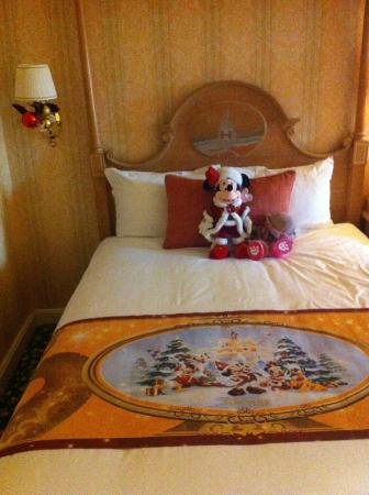 Chessy, Frankrig: Gifts from Mickey and Minnie when we arrived