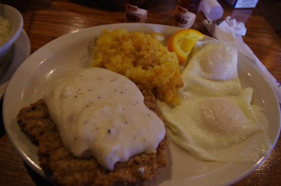 Grandpa S Country Fried Breakfast With Chicken Fried Steak Picture