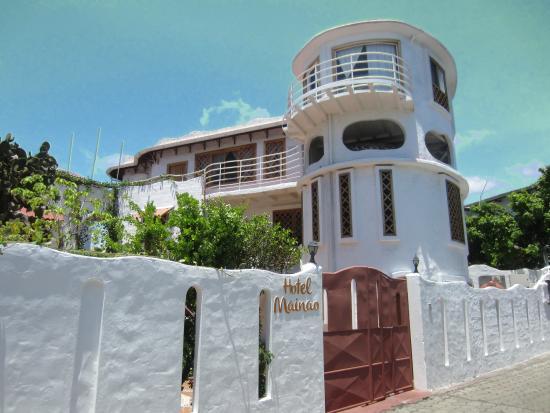 Hotel Mainao: Hotel depuis la rue