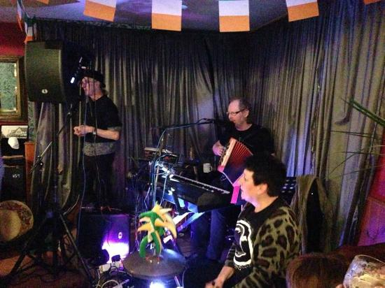 Clay Cross, UK: One of our occasional Irish music nights