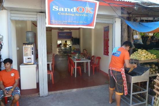 SandOK, Restaurant