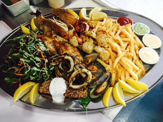 Gilles Plains, Australien: Mixed grill platter