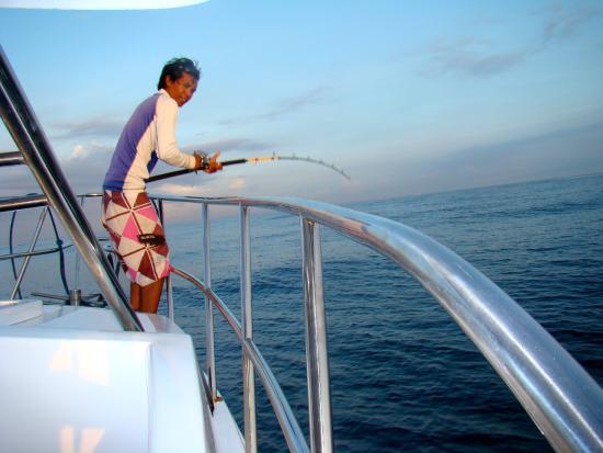 巴厘岛渔船