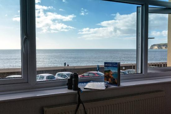 Mariners B&B: room 1 king size double sea view