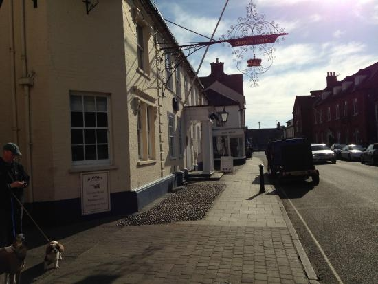 The Crown Hotel at Southwold