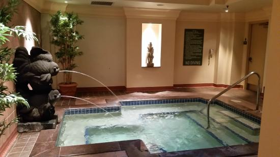 Hot tub at the gym picture of loews royal pacific resort for Florida hot tubs