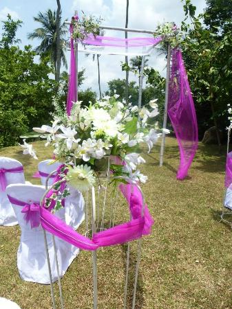 Brook Boutique Hotel & Spa: Wedding Decoration