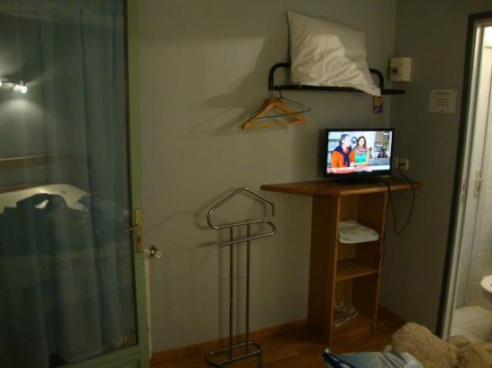Le Moulin d'Olt : Le coin télé.