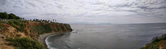 The Point Vicente Interpretive Center: Panoramic view from the walking path.