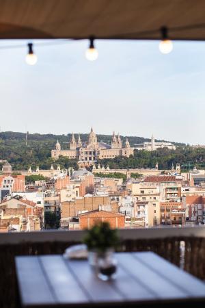 Vistas A Montjuic Picture Of La Terraza Bcn Urban Club