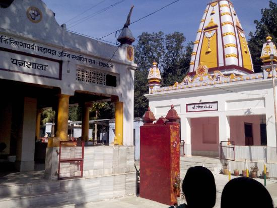 Haridwar, India: small temples