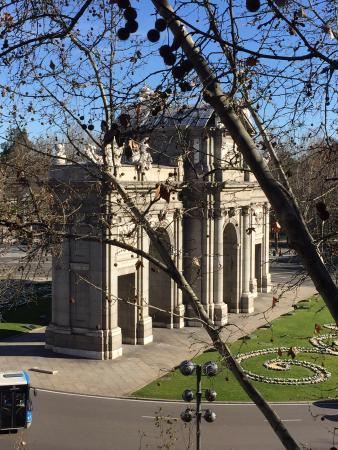 Hotel Hospes Puerta de Alcala : Buena vista