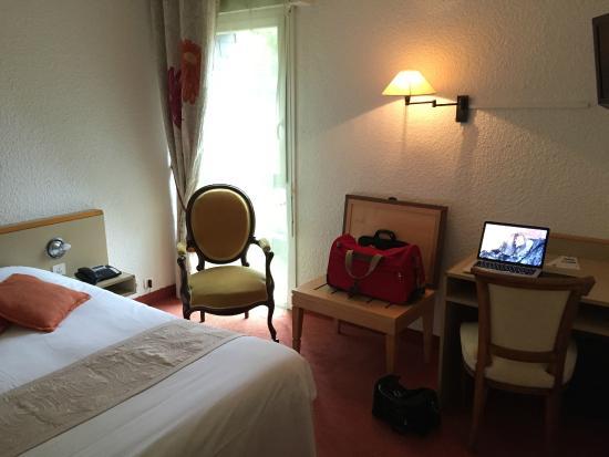 Hôtel Le Branhoc Logis Brit Hotel : Notre chambre