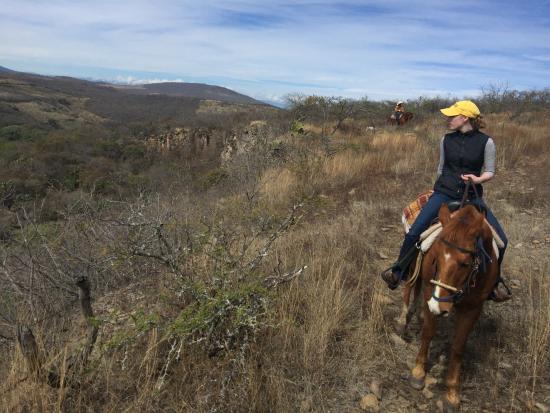 Hacienda de Taos: on the trail