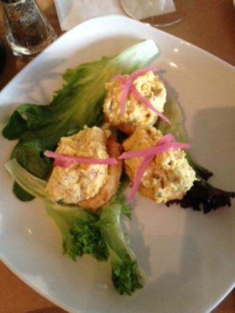 Sweetgrass Restaurant: Fried Deviled Eggs