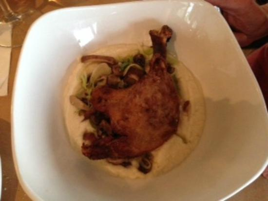 Sweetgrass Restaurant: Duck Confit