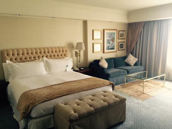 Park Tower, A Luxury Collection Hotel, Buenos Aires : Habitaciones amplias y cómodas