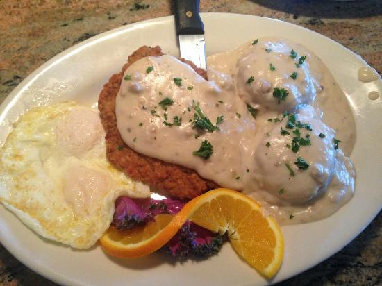Juicy's The Place with the Great Food: Chicken Fried Special