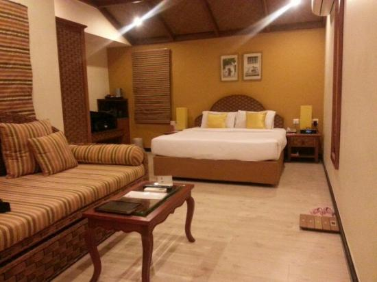 The Richmond, Puducherry : Large but airless on the ground floor!