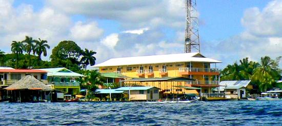 Bocas Paradise Hotel : Bocas Paradise on the water