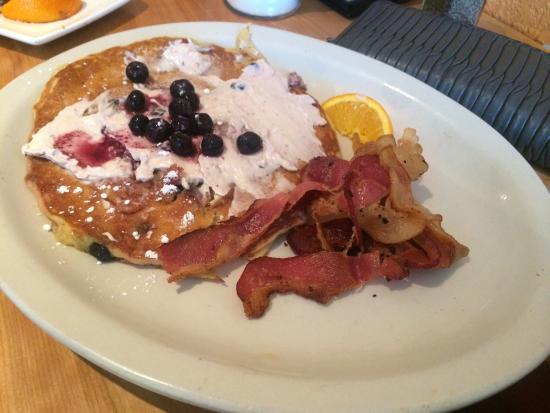 Pancake Joes: Blueberry Cheesecake pancakes