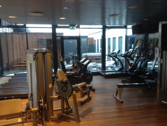 Hilton Reykjavik Nordica Probably Best Hotel Gym In