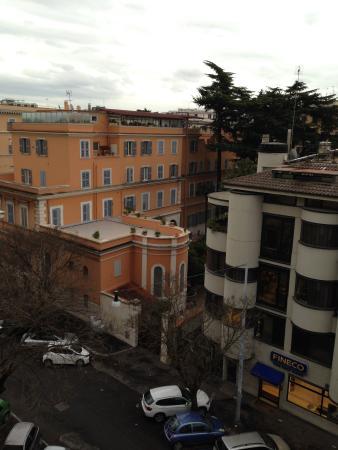 Hotel Gerber: вид с крыши отеля