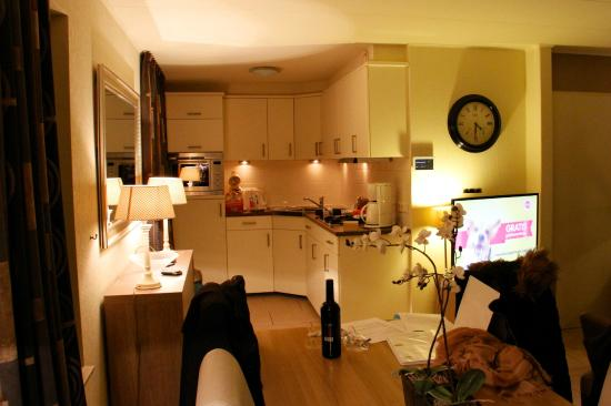 Landal Beach Park Texel : Open keuken in de avond