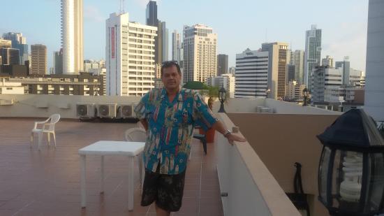 Hotel el Parador: VISTA DESDE EL 5 PISO
