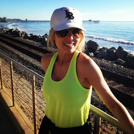 San Clemente, CA: Me on the trail
