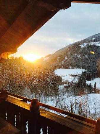 Windbachgut: Sunset