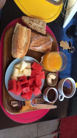 Hotel Fashion : Petit dej