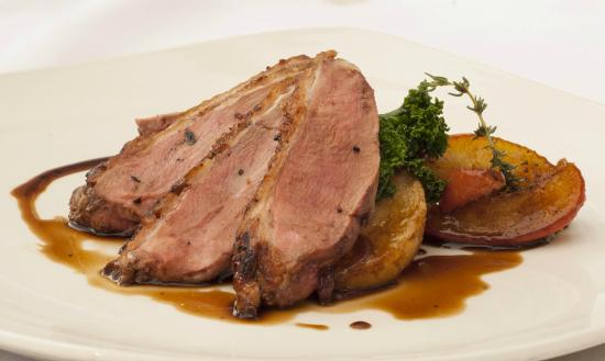 The Coach House Restaurant at Ravenstone Lodge: Duck Breast