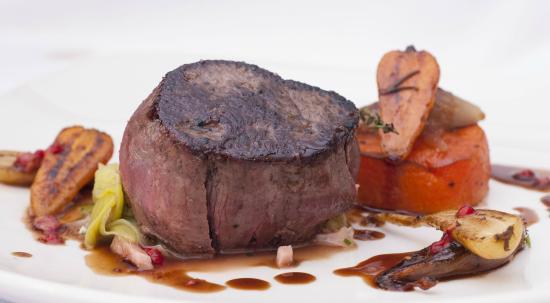 The Coach House Restaurant at Ravenstone Lodge : Vension Steak