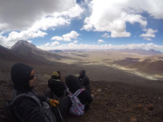 Lascar Volcano: Última parada antes do cume!