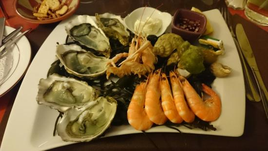 Le Carrelet : Assiette du pêcheur