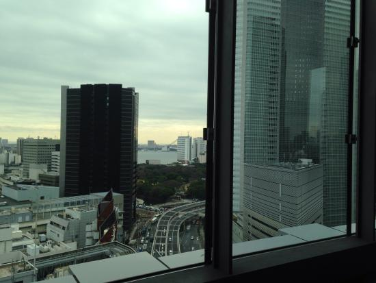 View From Bed Picture Of Mitsui Garden Hotel Ginza Premier Chuo Tripadvisor